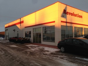 Commercial Aluminum installed in Fort St. John