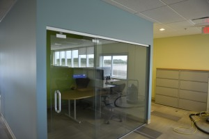 Shell Canada Interior Glass Slider