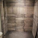 Customer Shower Panel installed