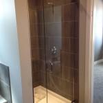Custom Frameless Shower installed in Fort St.John, BC
