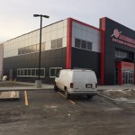 Clear Anodized Aluminex Aluminum installed into Temple Contracting-Techmation Electric, Fort St. John, BC