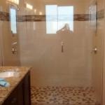 Custom Shower with Header