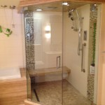 10mm Clear Tempered Custom Frameless Shower with Prima Hinges