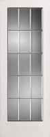 Beveled Glass French Door
