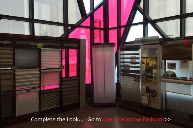 Alpine Window Fashions Display