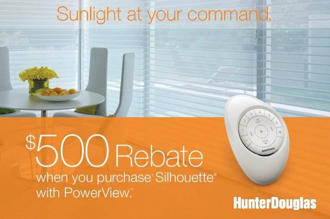 Hunter Douglas Powerview Promotion