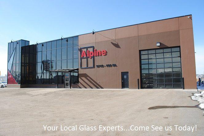 Alpine Glass Windows & Doors Building