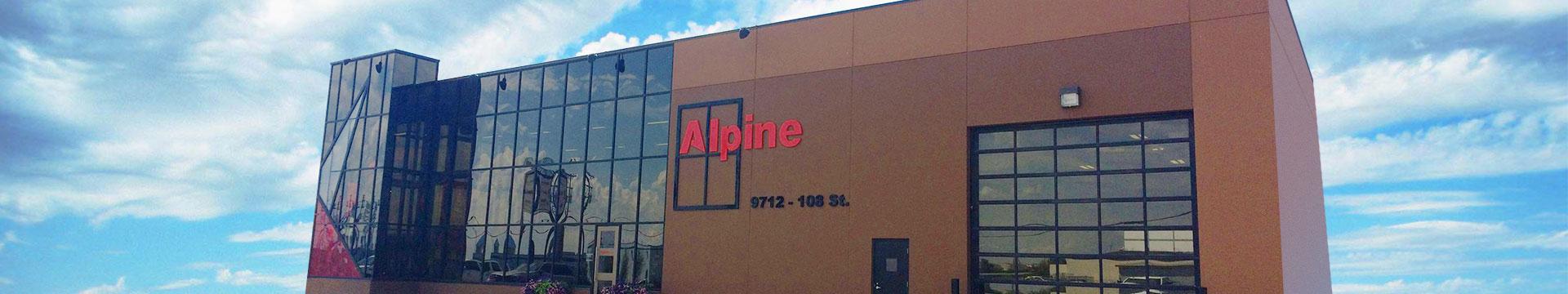 Entry Alpine Glass Windows Amp Doors
