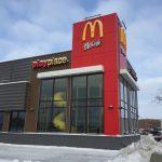 Black Aluminex Curtain Wall installed into McDonald's Playplace