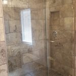 Customer Double Sliding Shower in Dawson Creek, BC