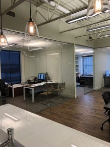 Frameless Glass Offices