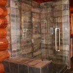 Custom 90 Degree Shower in Hudson's Hope, BC