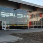 Alumicor Curtain Wall installed in Margaret Ma Murray Community School, Fort St. John, BC