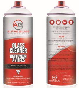 Alpine Glass Cleaner