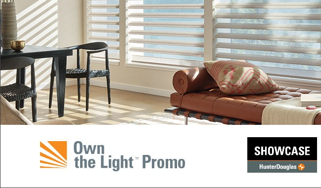 Hunter Douglas Promotion