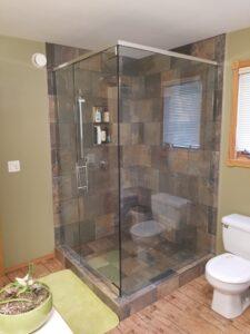 Custom Frameless Shower