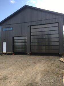 teel-Craft SA6000 Overhead Door Install
